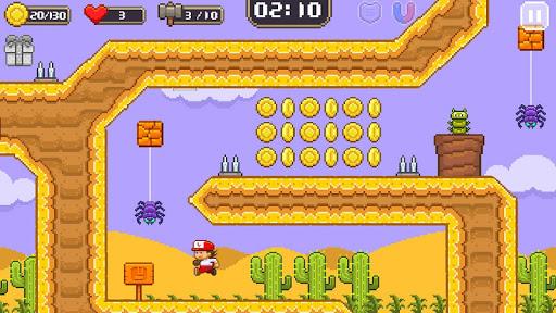 Super Jim Jump - pixel 3d 3.5.5002 screenshots 4