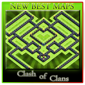 Base Maps of Clash of Clans