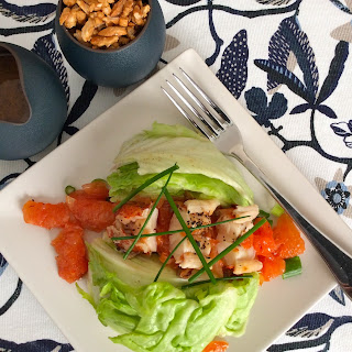 Broiled Lobster and Grapefruit Salad