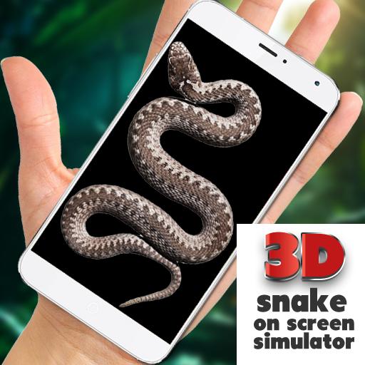Змея в руке Joke - iSnake