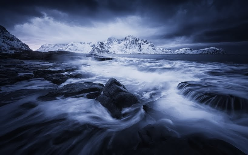 Imágenes mágicas de las islas Lofoten por Felix Inden