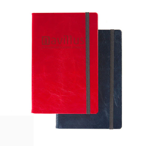 Leather covered notebooks