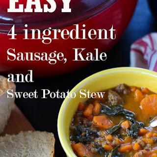Sausage, Kale and Sweet Potato Stew