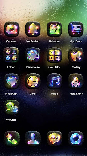 無料个人化Appの夜光 Hola Launcher テーマ 記事Game
