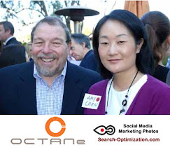Photo: Howard Mirowitz and Amy I. Chen Technology Transaction Attorney at OCTANe Orange County Firsty Venture Capital networking.