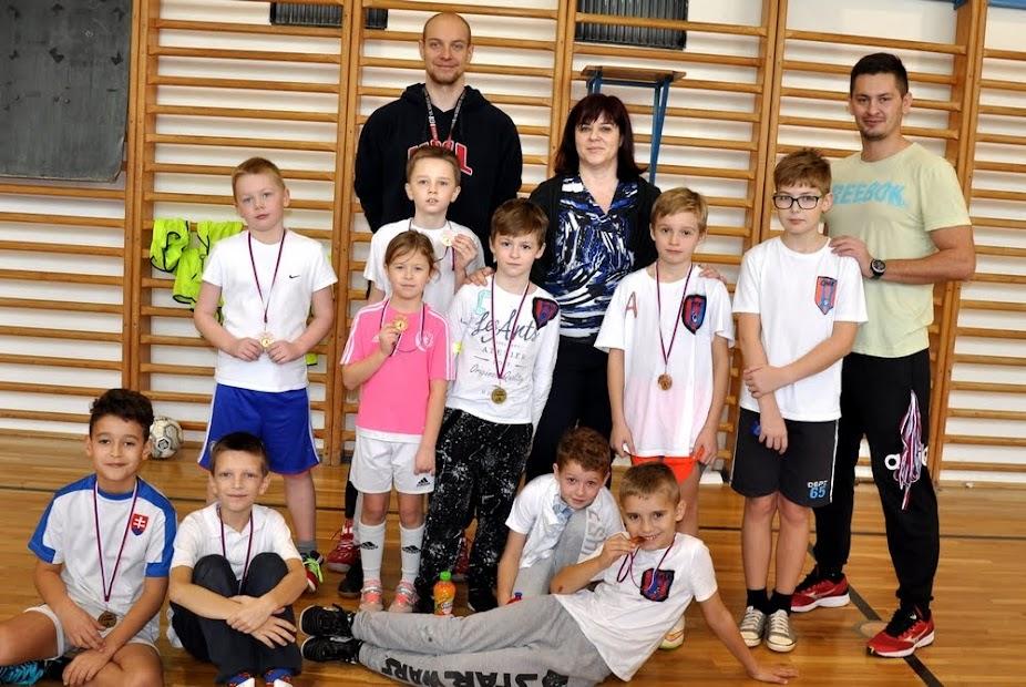Mikulášsky turnaj 2017 žiakov I.stupňa