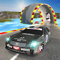 Boost Racer 3D: Extreme Ramp Car Stunts Racing Fun icon
