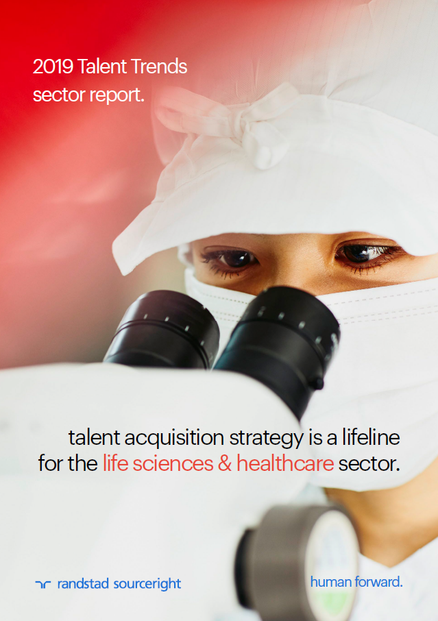 Randstad Sourceright 2019 talent trends life sciences healthcare