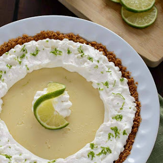 5 Ingredient Lime Pie.