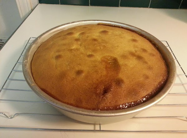 Bake cake until golden brown and toothpick inserted in center comes out clean, 45...