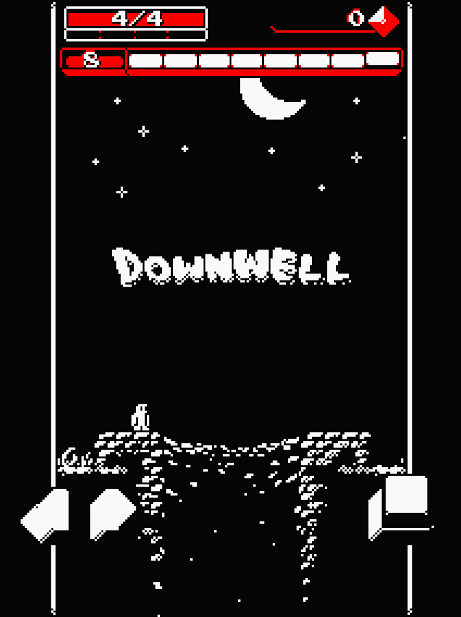 Downwell- screenshot