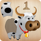 Puzzle animais para crianças icon