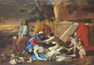 Photo: Nicolas Poussin, Lamentation of Christ, Ca. 1627