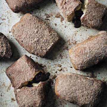 Malt Chocolate Doughnuts Recipe | Epicurious.com