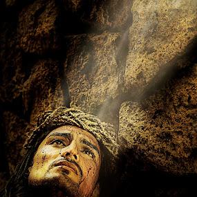 Jesus Christ by Don Davies - People Portraits of Men ( jesus, christ, portrait, man,  )