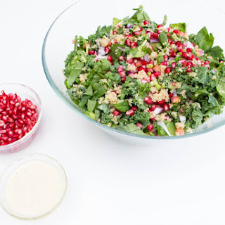 Kale Quinoa Salad with Pear Dressing