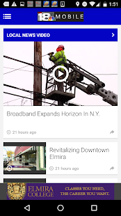 WETM TV - Elmira News- screenshot thumbnail