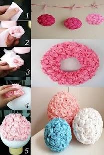 DIY Paper Flowers screenshot