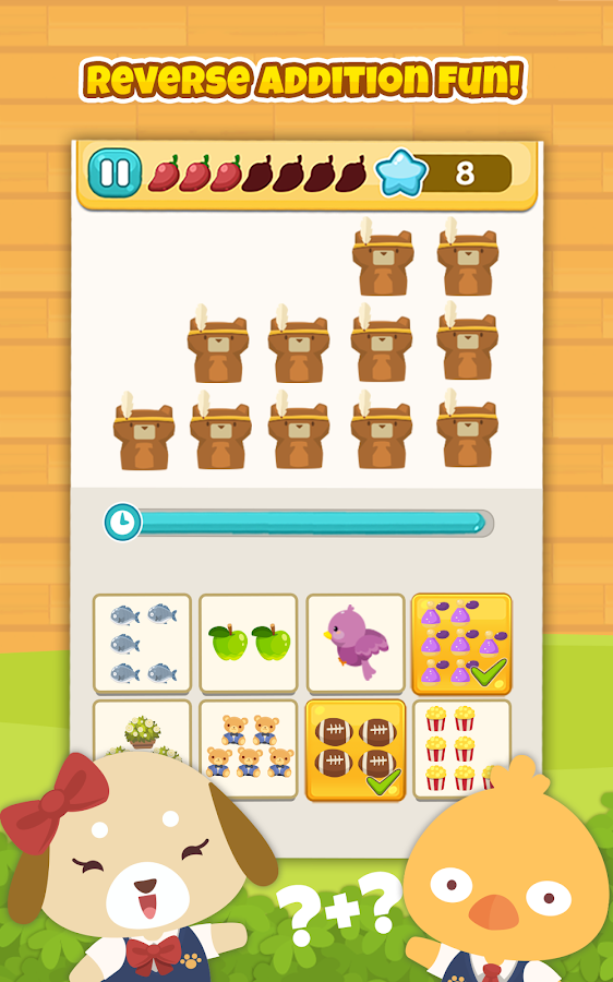 Happy Pet Math: Adding Up- screenshot