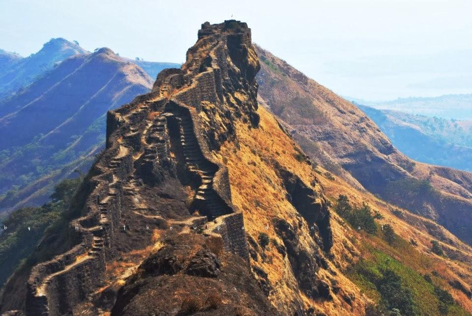 Torna fort trek near Mumbai