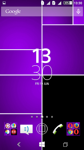 Win8 Purple Tiles XZ Theme