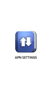 APN Settings - náhled