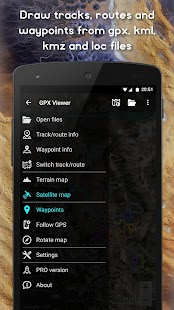 GPX Viewer - Tracks, Routes & Waypoints - náhled