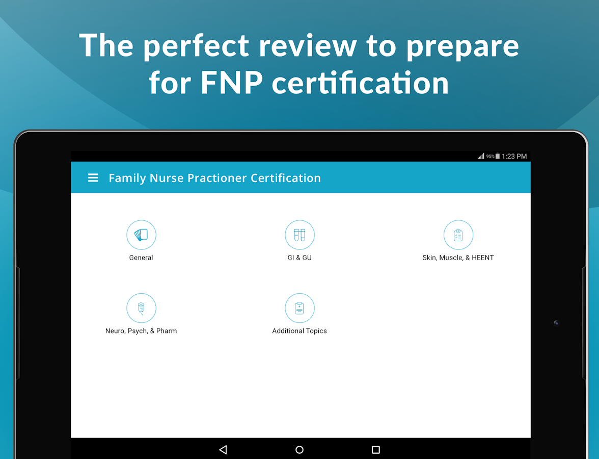 FNP - Nurse Practitioner Certification Prep- screenshot