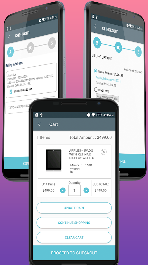 CS-Cart Mobikul Mobile Application Builder- screenshot