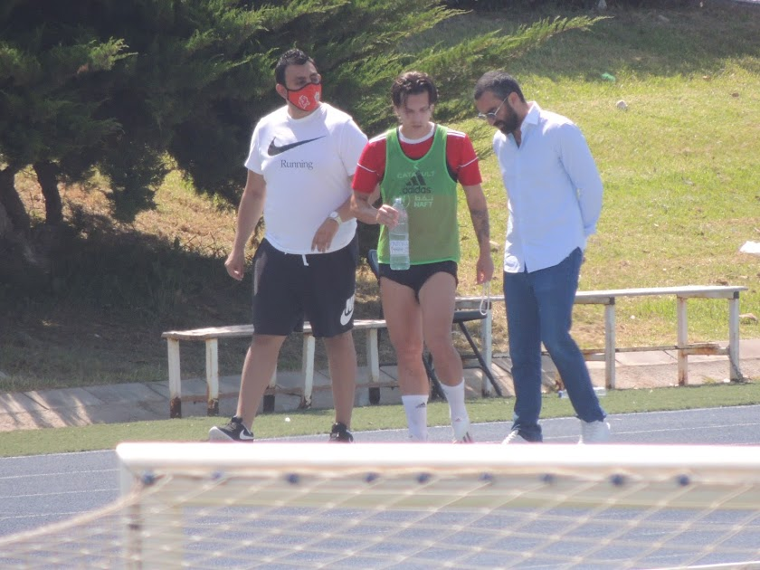 Entrenamiento del Almería (11 de julio)