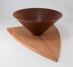 "Photo: Mike Twenty 10 1/2"" x 5"" bowl from a board [sapele]"