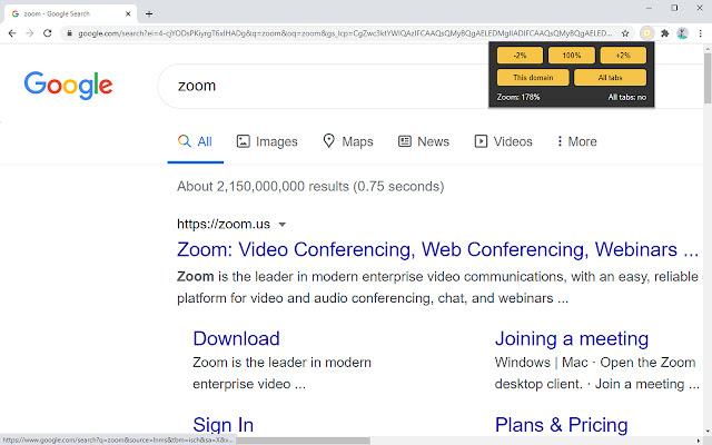 Zoom Controller