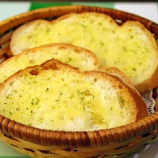 Crockpot Butter Garlic Bread