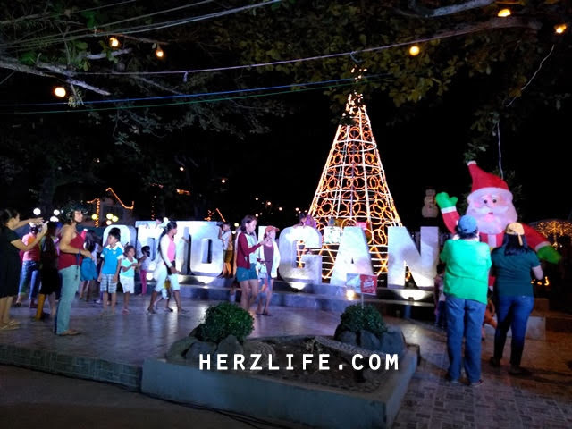 Christmas Night Market in Town of Odiongan