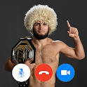 Khabib Nurmagomedov - Video Call Prank icon