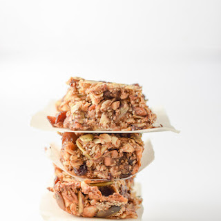 Almond Butter Nutty Granola Bars