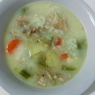 Augolemono Soup.