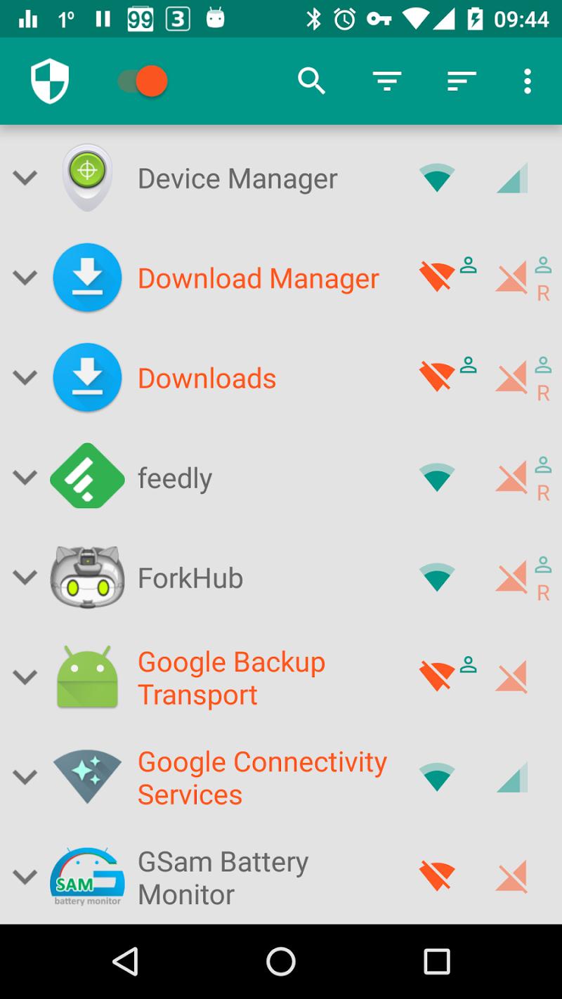 NetGuard - no-root firewall Screenshot 0