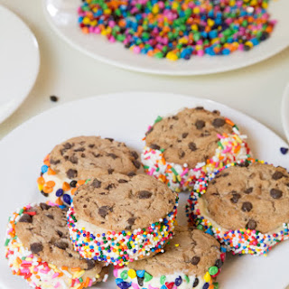 The Sprinkles-Sprinkles Chocolate Chip Cookie Ice Cream Sandwich