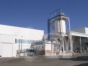 Photo: Gas Vapor S.L. - www.gv.iei.es Instalación de Desengrase de Aguas de Arrastre de Huesos-Silo de Huesos