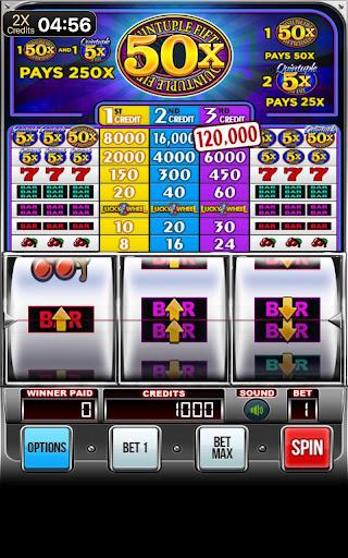 Quintuple 50x Free Slots