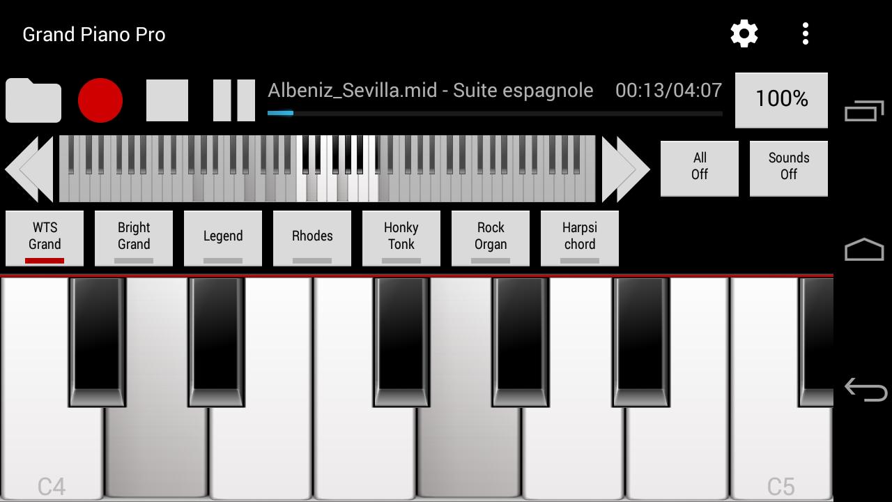 real piano gismart premium apk