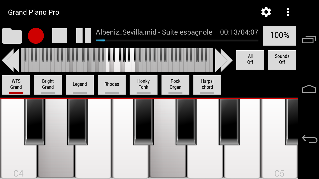 Grand piano pro midiusb android apps on google play grand piano pro midiusb screenshot hexwebz Gallery