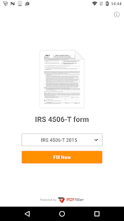 4506-T form- screenshot thumbnail