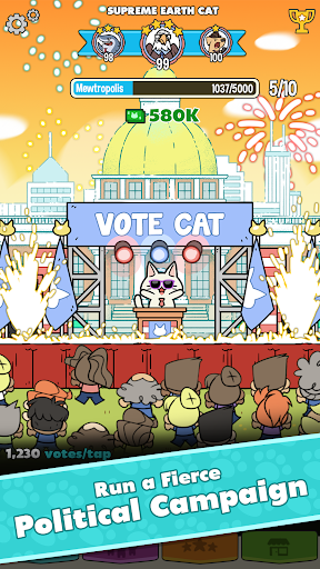 PolitiCats: Free Clicker Game screenshot