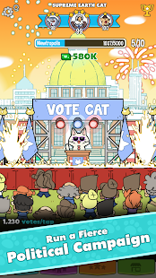 PolitiCats: Free Clicker Game- screenshot thumbnail