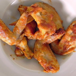 Beer-Brined Chicken Wings with Red Fresno Sriracha