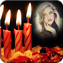 Candle Love Photo Frames icon