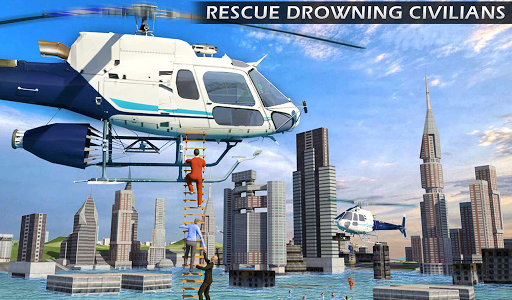 Heli Ambulance Rescue Team 3D Helicopter Simulator  screenshots 13