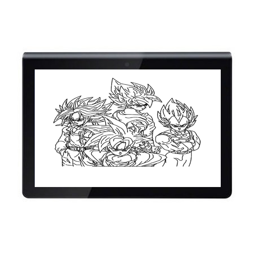 New Drawing Easy Goku And Friends 1.0 screenshots 4